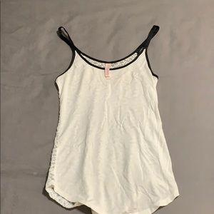 Victoria's Secret lace back sleep tank top